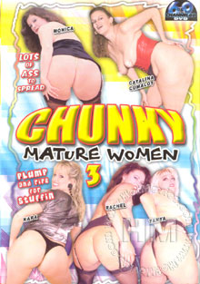 Chunky Mature Women 3 Box Cover