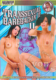 Transsexual Barebackin' It 11 Box Cover