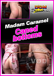Madam Caramel Caned Bottoms Box Cover