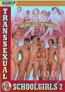 Transsexual Schoolgirls 2 Box Cover