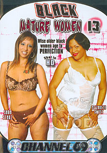 Black Mature Women 13 Box Cover