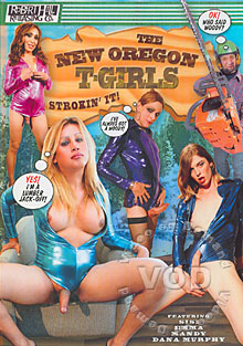 The New Oregon T-Girls Strokin' It! Box Cover