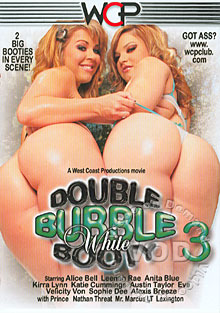 Double Bubble White Booty 3 Box Cover