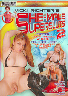 She-Male Supersluts 2 Box Cover