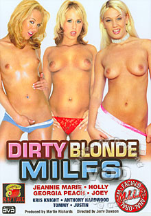 Dirty Blonde MILFS Box Cover