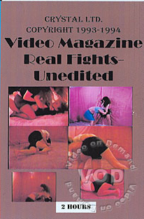 Video Magazine Real Fights - Unedited Box Cover