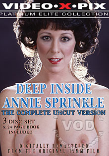 Deep Inside Annie Sprinkle - Platinum Elite Collection (Disc 3 - Q/A Interview With Annie Sprinkle)