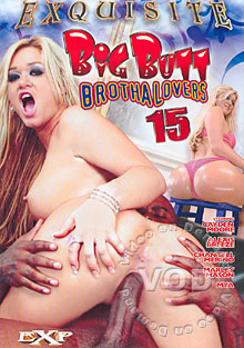 Big Butt Brotha Lovers 15 Box Cover