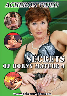 Secrets Of Horny Mature 4 Box Cover