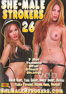 She-Male Strokers 26 Box Cover