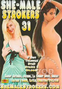 She-Male Strokers 31 Box Cover