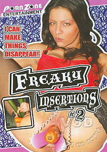 Freaky Insertions 2 Box Cover
