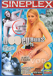 Gooey Buns 18 Box Cover