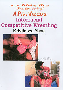 APL-418:  Interracial Competitive Wrestling - Kristie Vs. Yana Box Cover