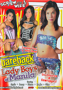 Bareback Lady Boys Of Manila Box Cover