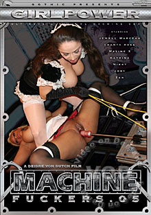 Machine Fuckers 5 Box Cover