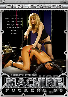 Machine Fuckers 8 Box Cover