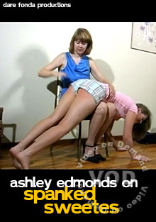 Ashley Edmonds On Spanked Sweetes Box Cover