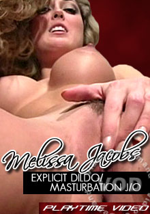 Melissa Jacobs Explicit Dildo/Masturbation J/O Box Cover