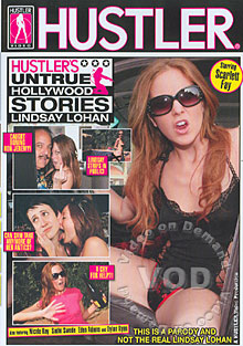 Hustlers Untrue Hollywood Stories Lindsay Lohan Box Cover