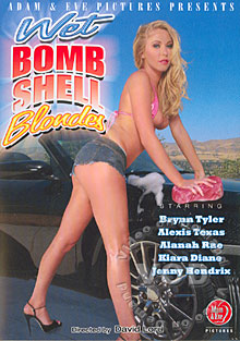 Wet Bombshell Blondes Box Cover