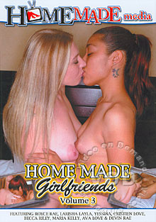 Home Made Girlfriends #3 Box Cover