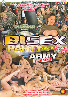 BiSex Party Vol. 9 - Army Training
