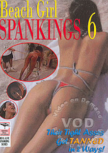 Beach Girl Spankings 6 Box Cover