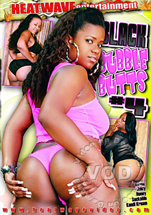 Black Bubble Butts #4 Box Cover