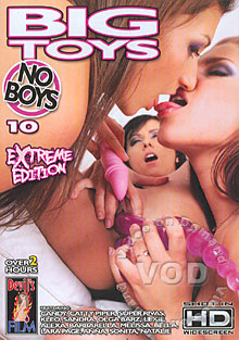 Big Toys No Boys 10 - Extreme Edition Box Cover