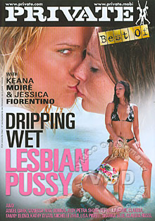 Dripping Wet Lesbian Pussy Box Cover