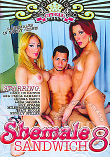 Shemale Sandwich 8 Box Cover