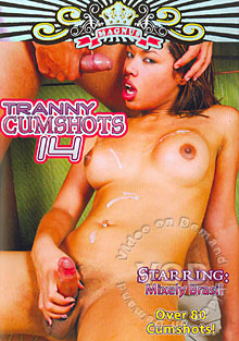 Tranny Cumshots 14 Box Cover