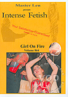 Intense Fetish Volume 864 - Girl On Fire Box Cover