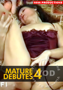 Mature Debutes 4 Box Cover