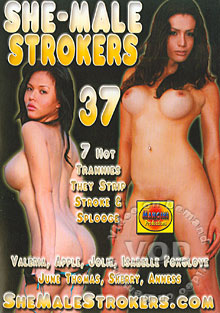 She-Male Strokers 37 Box Cover