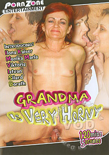 Grandma Is Very Horny Box Cover