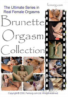 Brunette Orgasm Collection Box Cover