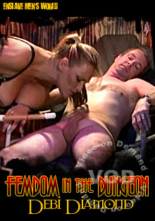 Femdoms In The Dungeon - Debi Diamond Box Cover