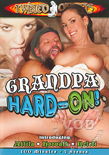 Grandpa Hard-On! Box Cover