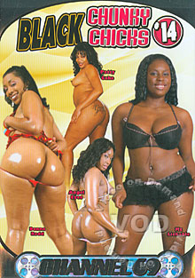 Black Chunky Chicks 14 Box Cover