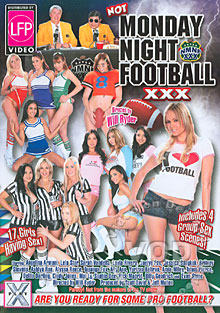 Not Monday Night Football XXX Box Cover