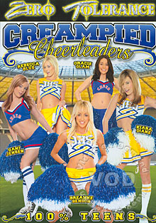 Creampied Cheerleaders Box Cover