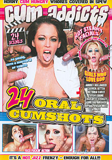 24 Oral Cumshots Box Cover