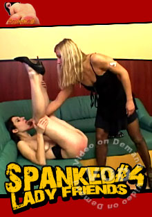 Spanked Lady Friends #4 Box Cover