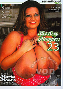 Hot Sexy Plumpers 23 Box Cover