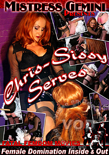 Chris-Sissy Serves Box Cover