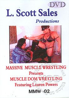 MMW02: Muscle Dom Wrestling Box Cover