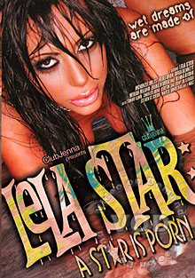 Lela Star - A Star Is Porn Box Cover