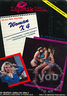 Woman X 4 Box Cover